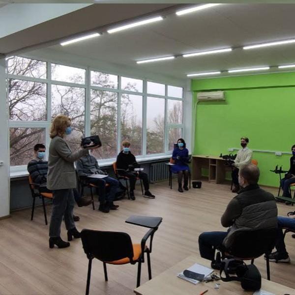 Розробка навчальних курсів, презентацій для ПДТУ